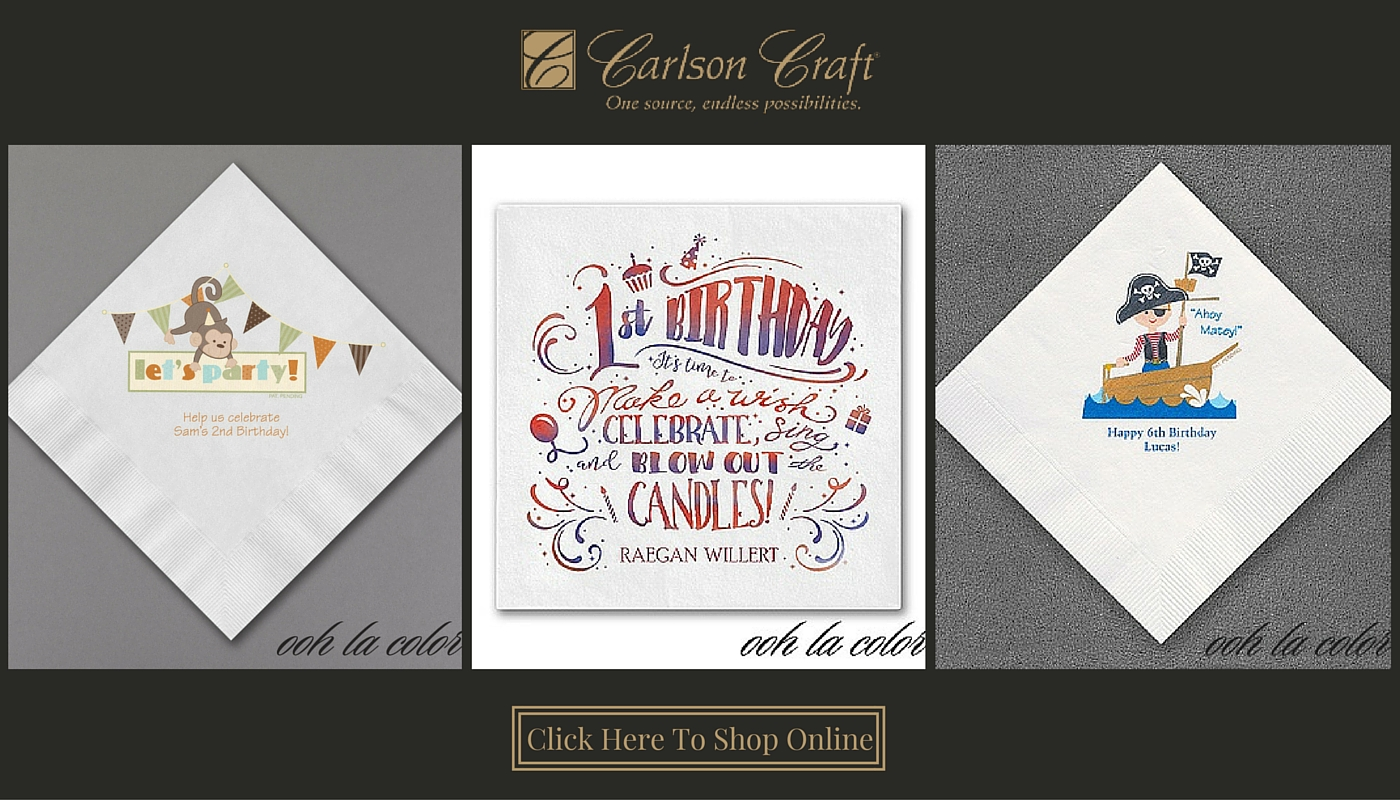 Celebrated Occasions For Your Invitations Napkins Accessories More